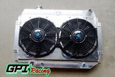 Aluminum radiator + Shroud + 2X10''fan for HOLDEN HQ HJ HX HZ 253 & 308 V8