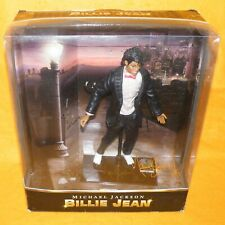 "2010 PLAYMATES TOYS CHARACTER MICHAEL JACKSON BILLIE JEAN 10"" DOLL FIGURE BOXED"