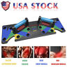 9 in 1 Push Up Rack Board System Fitness Workout Train Gym Exercise Stands BL