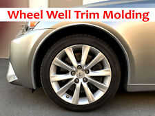 For GMC 2004-2018 Models - Set of 4 Chrome Fender Wheel Well Trim Molding