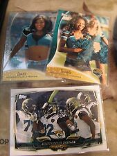 Jacksonville Jaguars 350-360 Cards Team Lot of Stars & Commons NFL Football