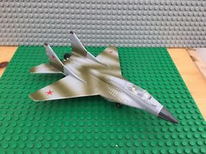 """Ertl Force One Mig-29 Fulcrum Camoflaged Version Die Cast Model 7"""" Long Approx"""