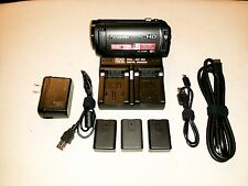 Panasonic HC-W580K Full HD Camcorder Twin Camera Plus 2 Extra Batteries+Charger