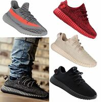 MENS RUNNING TRAINERS BOOST FITNESS GYM SPORTS COMFY LACE UP SHOES SIZE 6-11