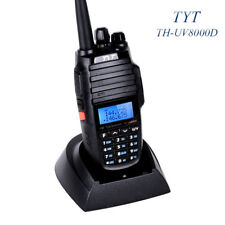 TYT TH-UV8000D 10 Watts Uscita ultra-alta Doppia banda V/UHF Walkie-Talkie 128CH