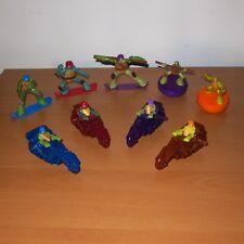 TMNT Teenage Mutant Ninja Turtles - Bundle Lot of 9 McDonalds Happy Meal Toy