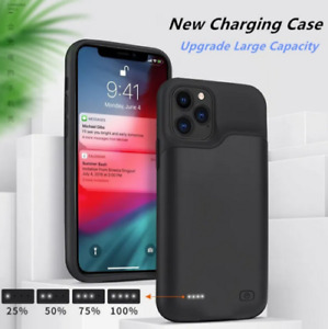Portable Power Bank Pack Battery Charger Case Cover for iPhone 12 Mini 12Pro Max