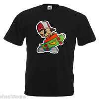 Skater Skateboard Adults Mens T Shirt 12 Colours  Size S - 3XL