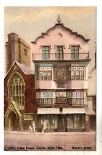 Mol's Coffee House - Exeter Art Postcard c1910