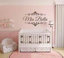 Custom Princess Girls Name Vinyl Wall Decal