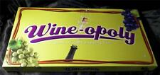 Wineopoly Board Game MONOPOLY- PLAY AT A WINERY ADULT WINE PARTY  pieces sealed