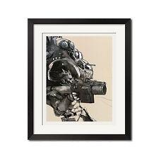 Metal Gear Solid Gunship Graphic Art Poster Print