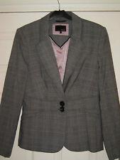 Next Jacket Size 10 Regular Prince of Wales Check BN