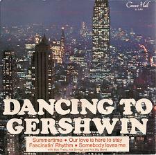 "Bob Tracy, His Strings & Big Band Dancing With Gershwin UK  33rpm 7"" EP"