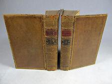 The Works in Verse and Prose of William Shenstone Esq Edinburgh 1765 leather 2v