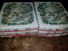 Vintage Radiant Noel Christmas Assortment Christmas Card Box Sets 6 Of Them
