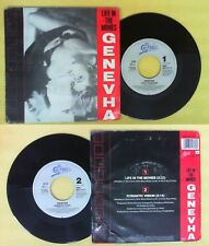 LP 45 7'' GENEVHA Life in the movies Romantic vision 1987 holland no cd mc dvd