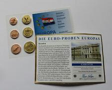 CROATIA 2013 EURO SET ANIMALS COIN SPECIMEN PATTERN PROTOTYPE ESSAI Hrvatska