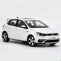 1/18 Scale VW Volkswagen POLO GTI 2015 White Diecast Car Model Toy Collection