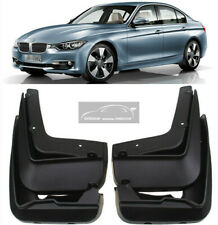 4pcs Splash Guards Black Mud Guards Mud Flaps For BMW 3 Series F30 F31 2012-2018