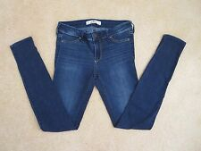 Hollister Womens Super Skinny Jeans Size 00/0 Jeggings Medium Wash