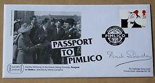 Comedians passaporto a Pimlico 1998 FDC firmato dall' attrice DINAH Sheridan