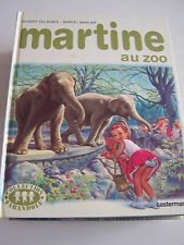 JEUNESSE . BD MARTINE AU ZOO. COLLECTION FATANDOLE COMME NEUF .