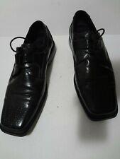 """Tedd Walsh"" Men's Square Toe Derby Dress Shoes 9 1/2 Black"