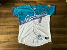 Greensboro Grasshoppers Authentic Team Issued Relay For Life Jersey MILB