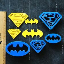 4pcs set Super Hero Batman Superman Cookie Cutter Sugarcraft Cake Decoration