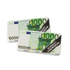 😊 2 x Magic Towel  MONEY NOTES  magisches Handtuch in 1000 Eurodesign