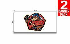Erie Otters 24 X 48 Inch Vinyl Banner 2 Pack