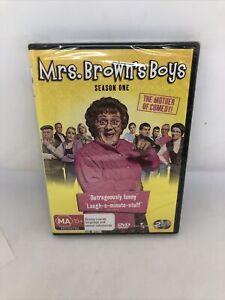 MRS BROWN'S BOYS Season One DVD REGION 4 Brand New Sealed FREE SHIPPING