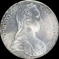 Austria 1780 1 Thaler restrike KM#T1 SIlver World Coin