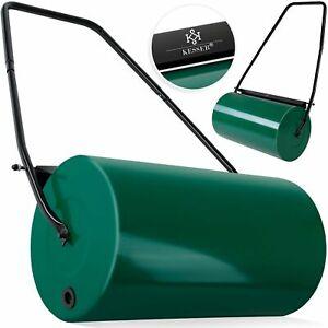 KESSER® Rasenwalze 60cm Handwalze Rasenroller Gartenwalze Rasenlüfter Ackerwalze