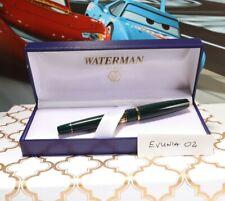 Waterman Charlstone Rollerbal, NOS, Dark Green, Gold Trim, in Box. RARE