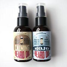 OneDTQ Beard Oil Double Pack: MOGO & Calming. 100% Natural