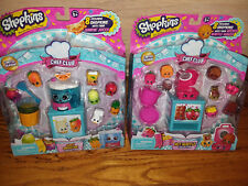 SHOPKINS Season 6 CHEF CLUB -  JUICY SMOOTHIE & HOT WAFFLE Collection Playsets