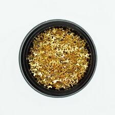 800PCS 2x3MM Tiny Butterfly Metal Rivet Studs Gold Tone Nail Art DIY Decorations