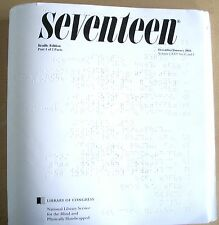Seventeen - March/April 2018 (Braille for the Blind Teen)