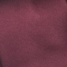 New Handkerchief Men's SOLID Hanky Pocket Square Hankie BURGUNDY WINE 100MM
