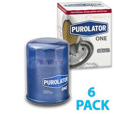 6 Pack Purolator ONE PL14610 Engine Oil Filter - 6x Long Life cl