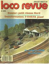 LOCO REVUE N°495 PETIT RESEAU NORD / TRANSFORMATION : 3-040.TA JOUEF / V. CORAIL
