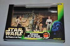 Star Wars The Power of the Force Purchase Of The Droids Uncle Owen, C-3Po, Luke