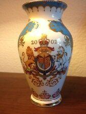 2002 Queen Elizabeth II Golden Jubilee Vase