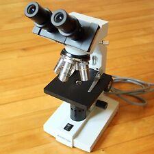 AmScope Binocular Microscope 4x 10x 40x 100x