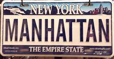 Manhattan License Plate, New York License Plate, NYC Souvenir, Made in USA!