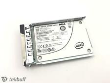 "Dell 64TMJ 480GB 2.5"" MLC 6Gbps SSD - Intel 3520 Series SSDSC2BB480G7R + Caddy"