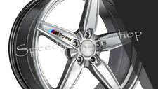 BMW M POWER ALLOY WHEEL STICKERS X5 DECALS 10CM X 1.3CM OEM DECALS