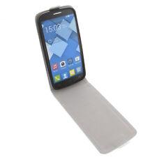 Funda para Alcatel one touch Pop C7 protectora Teléfono Móvil con tapa blanco